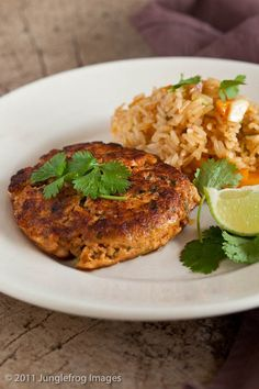 Spicy Salmon Burgers With Sweet Chili Sauce