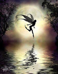 Fairy Dance <3 #fairies #moon