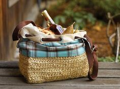 The summer sun is out and about and with it come the picnickers. You've probably noticed them. They overrun the parks with their blankets and frisbees and sandwiches. Well, we're not about to let you go out there empty handed. Here are 20 picnic baskets you can buy or DIY. Let the feasting begin.