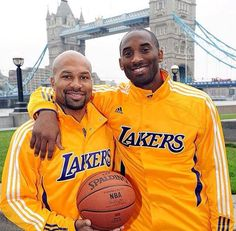 The Fish and Kobe.......4-ever Lakers