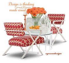 """design is thinking made visual"" by eyesondesign ❤ liked on Polyvore featuring interior, interiors, interior design, home, home decor, interior decorating, Janus et Cie, interiordesign and TastemastersDesignGroup"