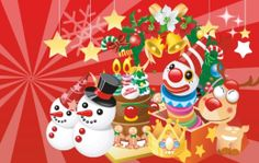 Christmas Decoration Elements Vector Collection