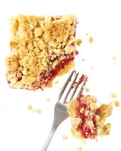 Raspberry Cornmeal Crumble Bars (substitute almond meal from Trader Joe's for almonds to make it even easier) These things are SOO fracking good!!!