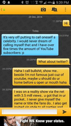 I'm more a celebrity then you part 1