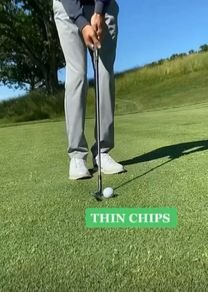 Hitting It Solid and Shot Shaver Golf share a great tip to stop thinning your chips and lower your scores. Golf Wedges, Golf Chipping Tips, Golf Books, Golf Score, Best Golf Courses, Golf Instruction, Golf Putting, Golf Exercises, Golf Training