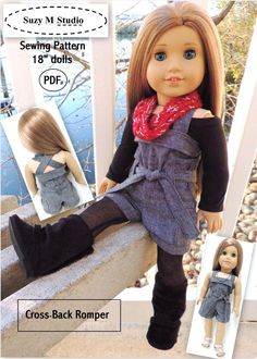 FREE lace skirt tutorial for American Girl doll or similar 18-inch doll.