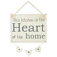 George Home Heart of the Home' Hanging Sign | Utensils & Gadgets | ASDA direct