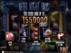 AFTER NIGHT FALLS - REAL MONEY SLOTS Real money slots are by far the most varied of all games that one can play in a casino. There is no other game that takes you to a crusade with money or fishing in a waterfall, let alone in search of a treasure in the ancient pyramids of Egypt.