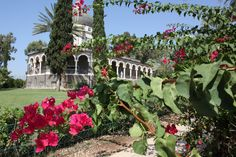 Church on the Mount of Beatitudes, Israel.