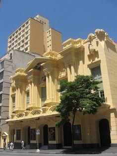 Antigo cinema Paramount - atual Teatro Abril - Av. Brigadeiro Luis Antonio - Bela Vista - São Paulo
