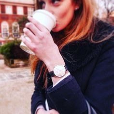 #Morning #coffee = fuel for the day! How are we all doing this #Monday? . . . #dapper #watches #timepiece #motivation #timeless #elegant #ootd #womw #wristwatch #picoftheday #watchesofinstagram #watchaddict #classy #black #silver