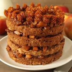 Apple Blondie Cake -only eggs in the cake so no other subs needed for the husband