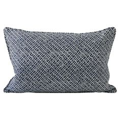 Walter G Wholesale Portal - AUS - Sonora Harbour linen cushion 35x55cm Hand Printed Fabric, Printed Linen, Printing On Fabric, How To Draw Hands, Cushions, Beige, Throw Pillows, Pattern, Prints