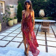 maxi maxi split dress red paisley paisley velvet evening evening wear gown formal v neck v neck dress halter neck halter dress spring indie hipster dress colour burgundy ethnic daywear day dress night dress red dress split maxi skirt slit slit skirt slit dress double slit