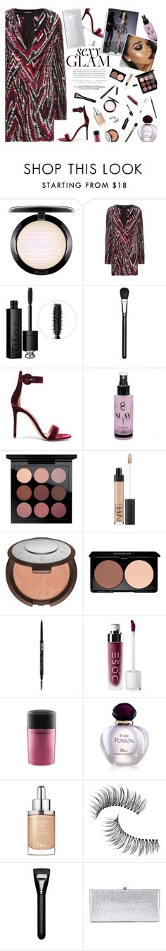 """""""Sexy Sequin Glam"""" by hollowpoint-smile ❤ liked on Polyvore featuring beauty, MAC Cosmetics, Tom Ford, Christian Dior, Gianvito Rossi, NARS Cosmetics, Becca, Kerr®, Anastasia Beverly Hills and Trish McEvoy"""
