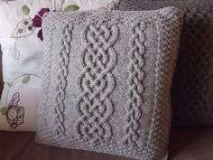 Cable Knit Cushion Cover £40.00