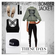 """""""Summer Bomber"""" by missannikab on Polyvore featuring NIKE, Kill Brand, Chicnova Fashion, Keds, Givenchy and bomberjackets"""