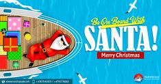 Its time to float in festivities, as we sail through #MerryChristmas. Keep up the fun!