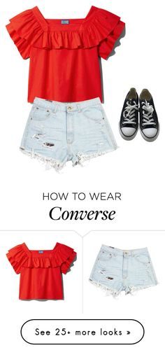 """Summer love ♡"" by samms00 on Polyvore featuring Converse"