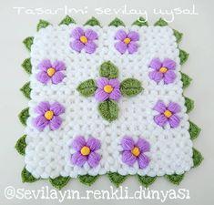 Merhaba arkadaşlar yeni tasarımım Kır çiçeği lifimle geldim. yarın annem ameliyat olacak hepinizden dua bekliyorum dualarınızı eksik… Knit Crochet, Crochet Hats, Piercings, Moda Emo, Bridal, Crafts For Kids, Knitting, Instagram, Fashion