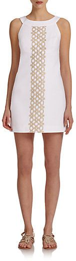 Jacqueline Embroidered Dress. This is sooo gorgeous.