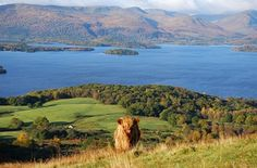 Loch Lomond is one of Britain's largest freshwater lakes, and one of its most beautiful celebrated in ballad and song.  West of Loch Lomond are the steep Arrochar Alps towering above Loch Long.  To the east is the Trossachs - a delightful landscape of forests, lochs and hills that has long been known as Scotland in miniature.  Photo: walkhighlands.co.uk