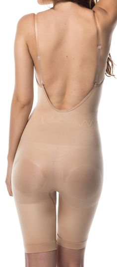 Wedding Lingerie - Smooth and Slim Shapewear bodysuit back for love me love my wedding