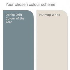 dulux nutmeg white and denim drift Hallway Colours, Room Colors, House Colors, Boys Bedroom Colour Scheme, Hallway Colour Schemes, Dining Room Colour Schemes, Color Schemes, Denim Drift Dulux Paint, Dulux Denim Drift Bedroom