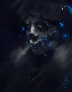 EXHALE, Gergo Pocsai on ArtStation at https://www.artstation.com/artwork/Z9Nym