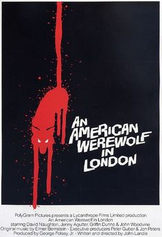 An American Werewolf In London. #horror #poster #movie.