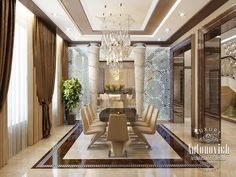Kitchen design in dubai luxury kitchen in a contemporary style photo