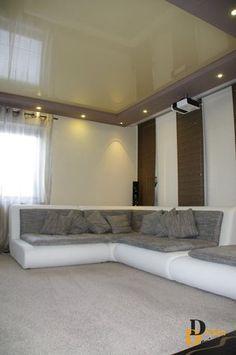 Spanndecken im Wohnzimmer