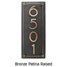 Frank Lloyd Eaglefeather Plaque – Bronze Shown with Optional T30 Screws