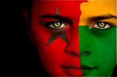Guinea-Bissau Flag Boy Capital: Bissau