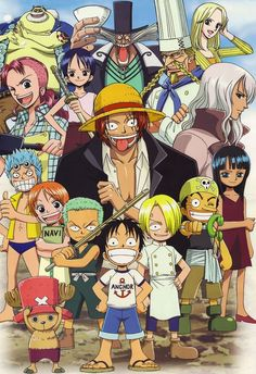 I wish Luffy started his Crew when he was young then there would be like a bunch of little kids being pirates beating the crap out of everyone