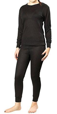 RUIDI Women's Thermal Underwear Set Top & Bottom (RED). The ...