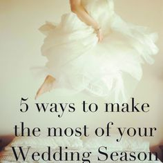 Happy Bride Tips. Stress Management. Wedding Season and beyond