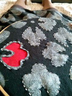 AC detail - stencil and stitch, then cut