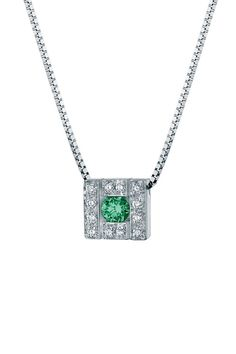 Damiani Belle Epoque Diamond & Emerald Necklace - Beyond the Rack