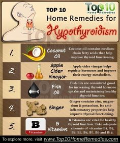Home remedies; Hypothyroidism occurs when the thyroid gland is underactive. It…