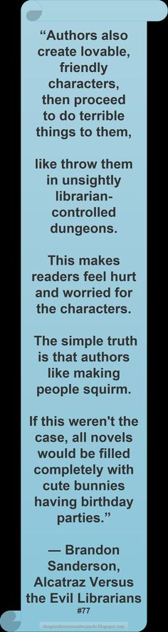 ♥ Brandon Sanderson ♥ ~ #Quote #Author #Characters