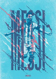 Ases de América Book - Lionel Messi on Behance