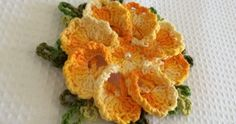 A bunch of beautiful crocheted flowers in Portuguese - Page 2