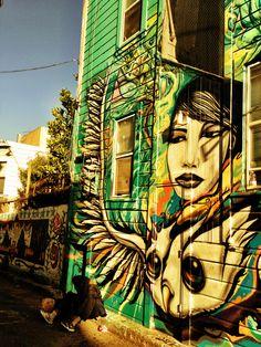 Street Art in San Francisco #streetart #arteurbana #urbanart