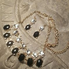 Necklace with matching earrings NWT.  Never worn. Jewelry Necklaces