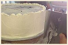 How to Frost a Smooth Cake- Tricks of the Trade