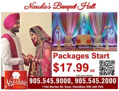 Are you Looking For Book Your Banquet Hall - Here We Are Narula's Banquet Hall Dundas