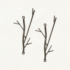 Iron Twig Hooks eclectic towel bars and hooks