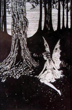 Six Images of Fairies and Imps  Ida Rentoul Sherbourne Outhwaite (1888-1960) Australia