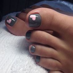 Ideas flower pedicure designs toenails french manicures for 2019 Pretty Toe Nails, Cute Toe Nails, Toe Nail Art, Gorgeous Nails, Pretty Toes, Shellac Pedicure, Gel Nails, Black Pedicure, Jamberry Nails